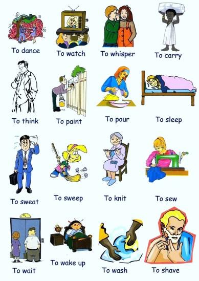 Ten important verbs