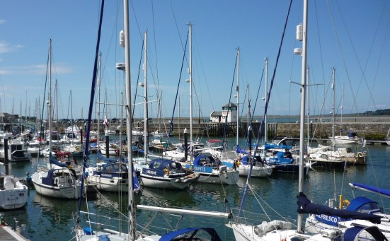 The marina at Caernarfon, North Wales