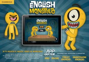 English Monstruo - recommended for B1 and Br English students by miprofedeingles.es