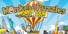 Monkey Puzzles World Tour children's game