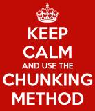 Vocabulary chunking and language learning