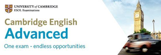 CAE - Cambridge Advanced examination