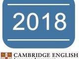 Exam dates 2018: Cambridge KET, PET, First, Advanced &Proficiency